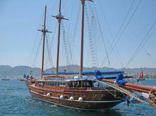 2007 3 Mast Gaff Rig Schooner Traditional Turkish Motorsailer