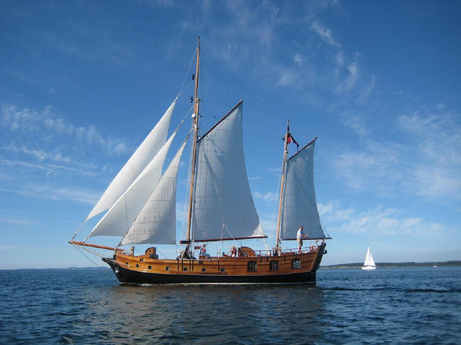 Topmoderne 1935 Houseboat Ketch Sail Boat For Sale - www.yachtworld.com NP-41