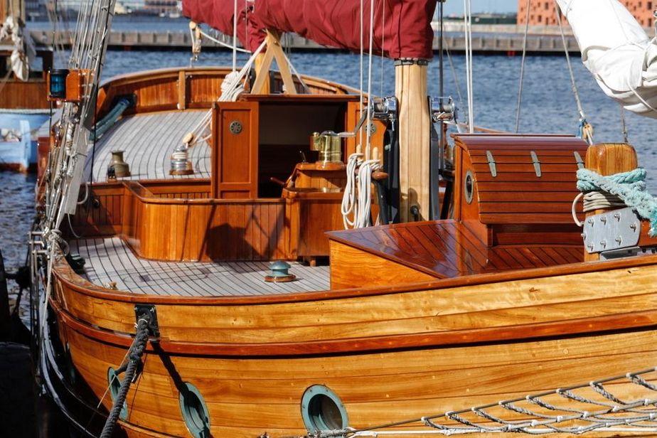 Tidsmæssigt 1935 Houseboat Ketch Sail Boat For Sale - www.yachtworld.com MM-34