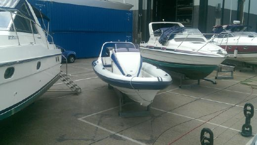 2007 Scorpion 8.5 Stepped Hull RIB