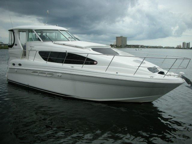 2006 sea ray 40 motor yacht power boat for sale www for Sea ray boat motors