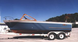 1962 Grew Closed Deck Runabout