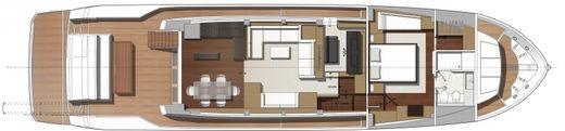 2015 Prestige 750 Yacht