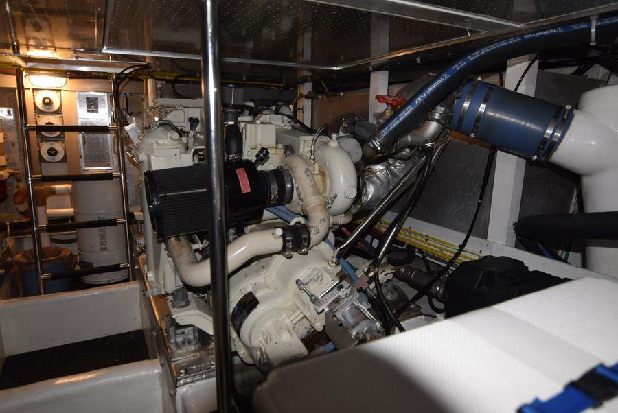 1998 Symbol 50 Pilothouse Engine Room