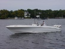 2004 Wellcraft Scarab CCF open center console