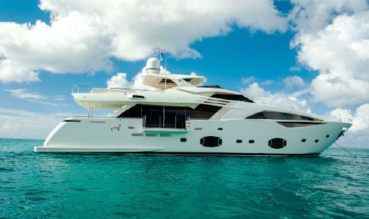 2014 Ferretti Yachts Custom Line 100
