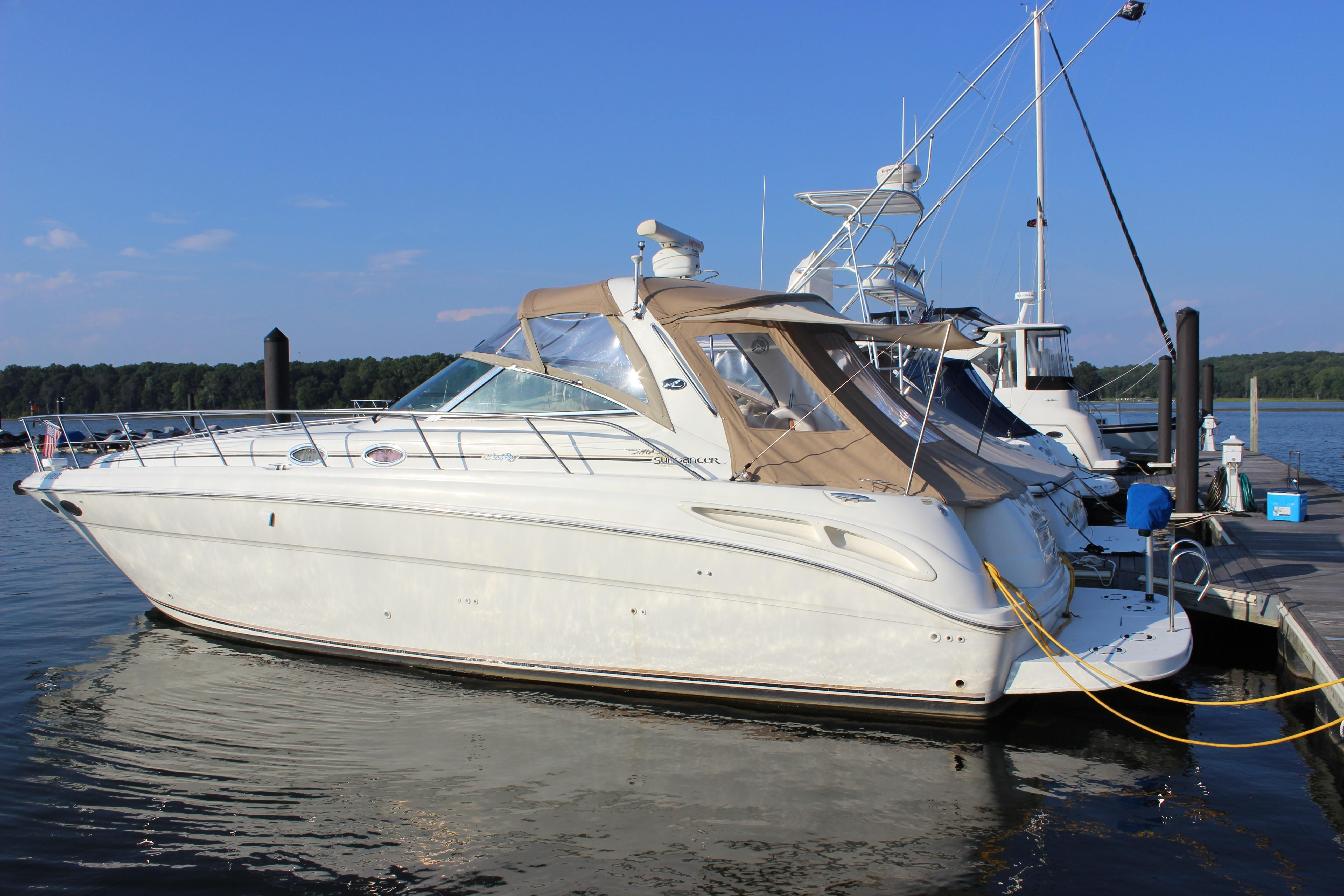 2001 sea ray 380 sundancer power boat for sale www for Sea ray motor yacht for sale