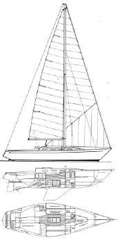1973 Ranger Offshore performance cruiser
