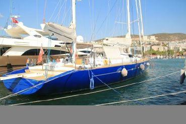 1998 Nedship 107 MARC LOMBARD DESIGN KETCH