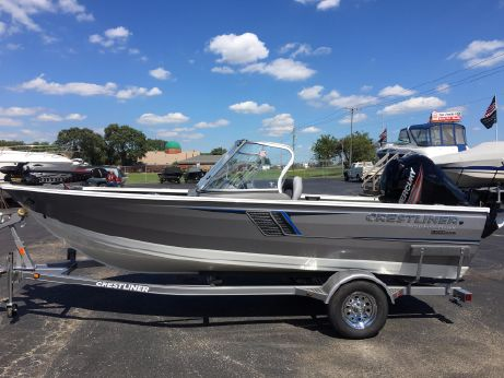 2017 Crestliner 1650 fishhawk WT