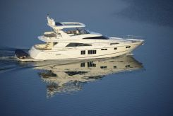 2014 Fairline Squadron 78 CUSTOM HT Demo