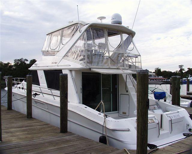 55 ft 1997 sea ray sedan bridge
