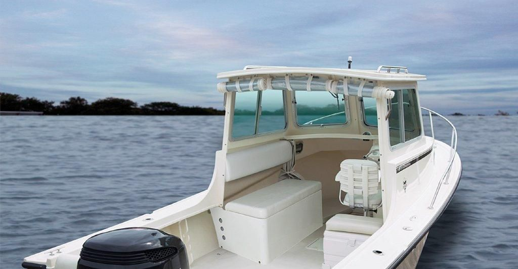 2018 steiger craft 25 modified v power boat for sale www for Deep sea fishing boat for sale