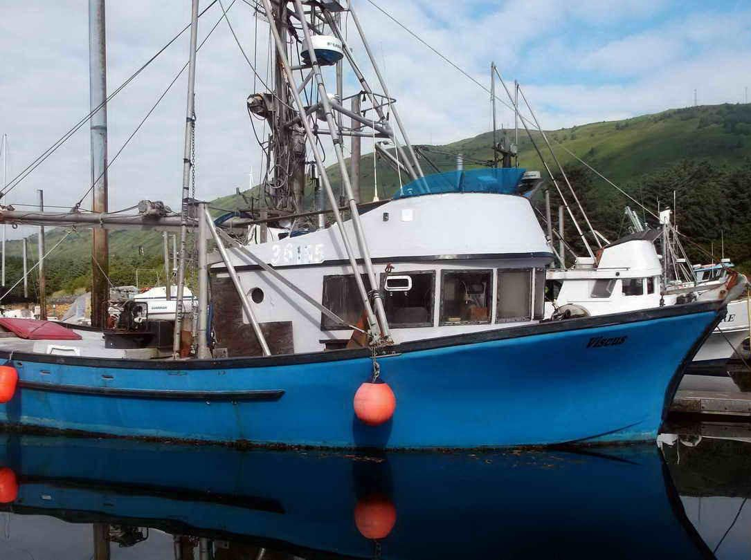 1979 commercial fishing longliner combo crab salmon for Commercial fishing boats