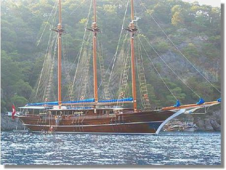 2005 3 Mast Schooner Traditional Turkish Gulet