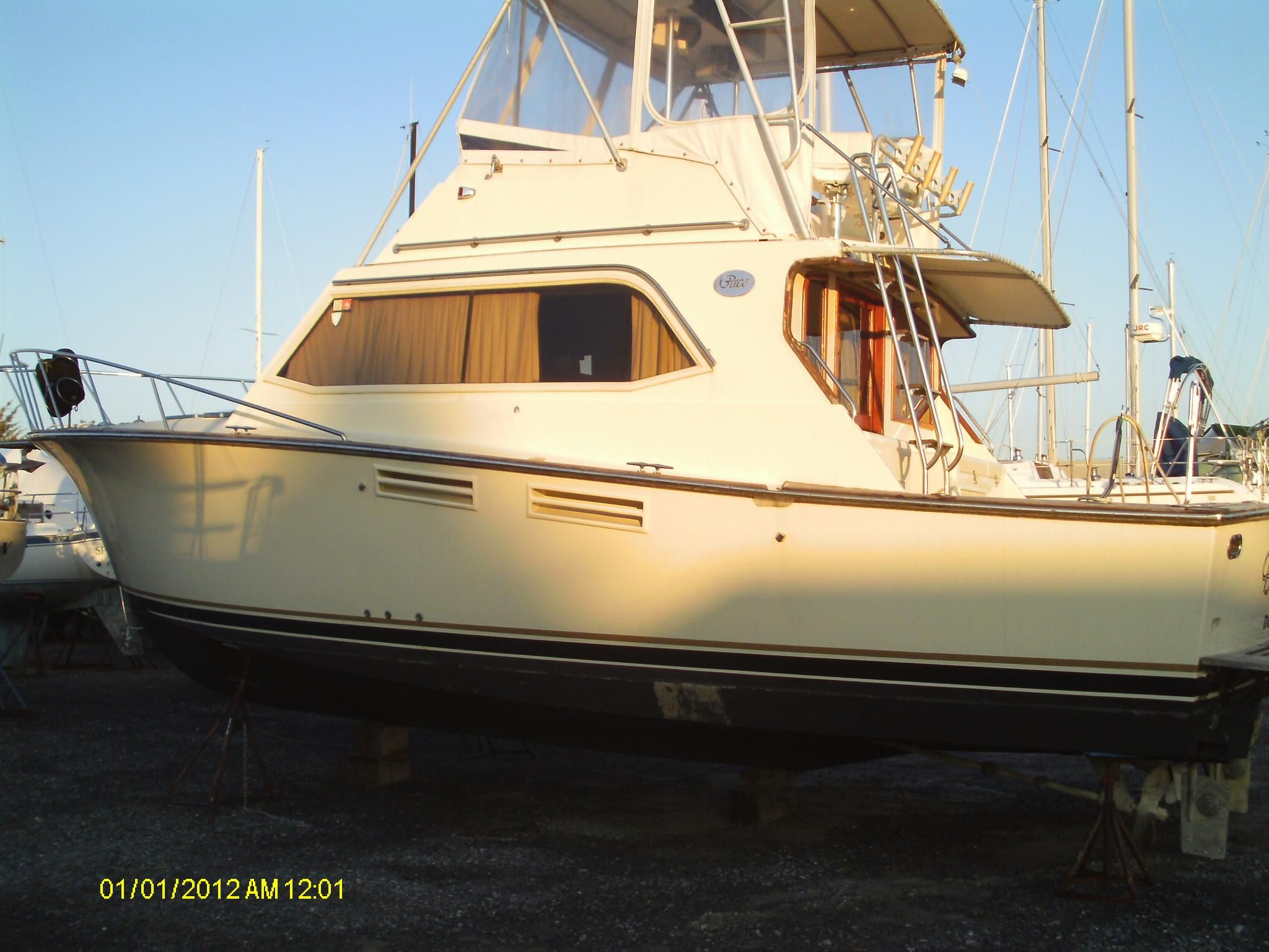 Grasonville (MD) United States  city photos : 1988 Pace 36 Convertible Power Boat For Sale www.yachtworld.com