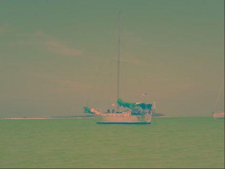 1977 Tahitian Cutter Canoe Stern