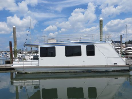 2001 Aqua Cruiser Houseboat 41