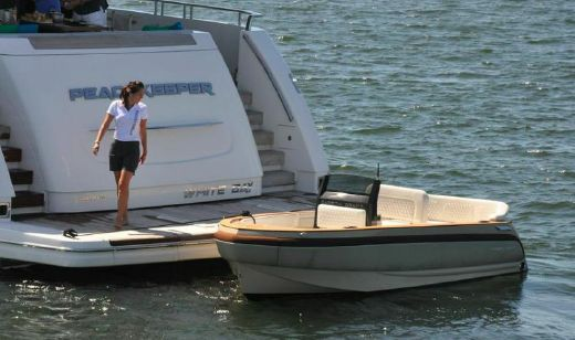 2015 Carbon Craft Yacht Tender, Diesel Jet