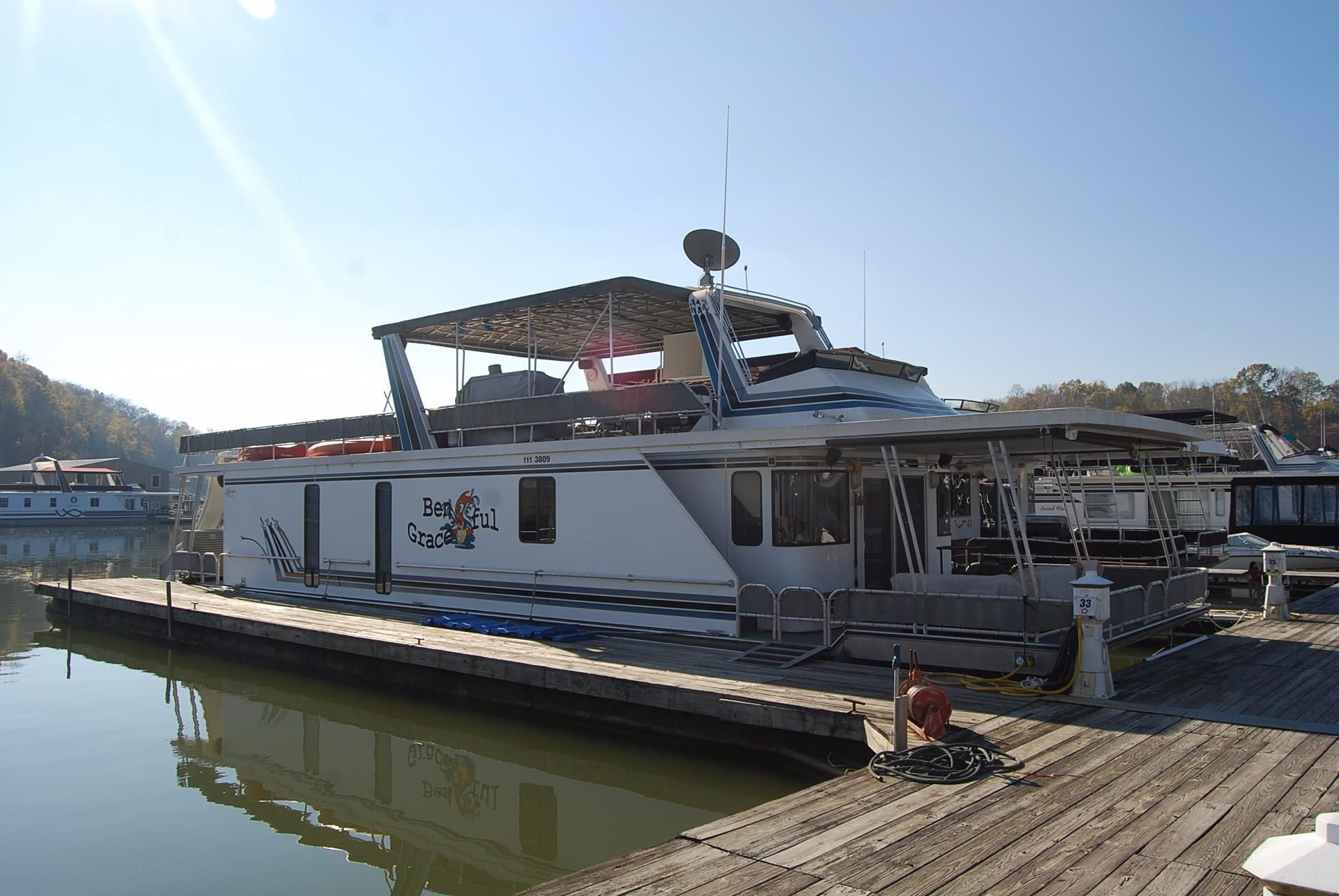 2001 Lakeview Houseboat 16 X 69 Power Boat For Sale Www
