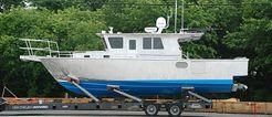 2009 Hunt Yachts 35 Cust Alum Sportfish/Cruiser