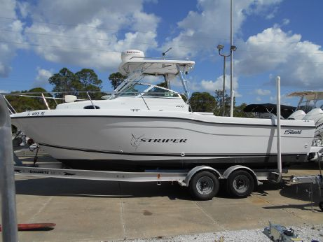 2001 Seaswirl Striper 2600 Walkaround O/B