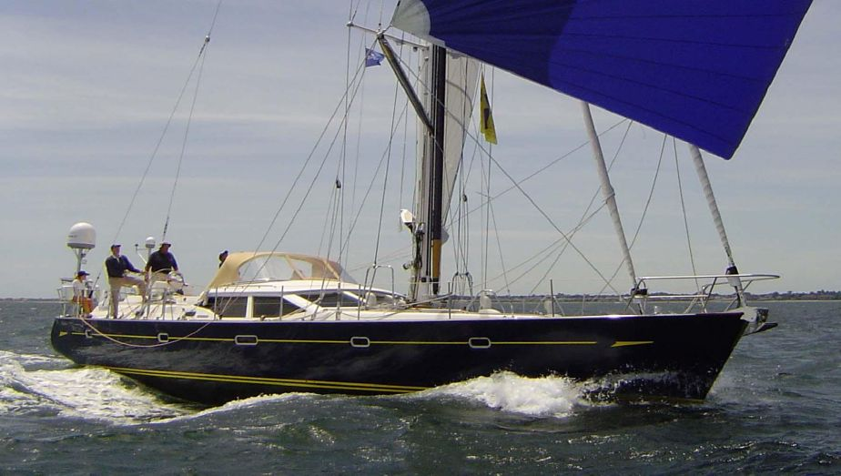 2004Oyster 62 Deck Saloon