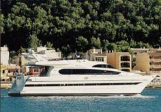 2000 Monte Fino 70 Euro Transom M.Y.