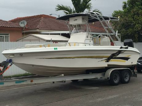 2001 Glasstream 242 CCX