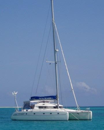 44' Fountaine Pajot Venezia 42+Boat for sale!
