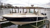 photo of 29' Chris Craft Catalina Sun Tender with Joy Stick docking all in excellent condition!