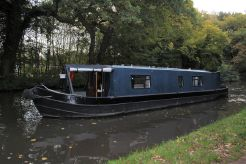1983 Narrowboat 40' Eggbridge Semi Trad Stern