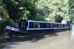1997 Narrowboat 57' Dave Clarke Cruiser Stern