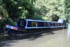 1996 Narrowboat 57' Dave Clarke Cruiser Stern