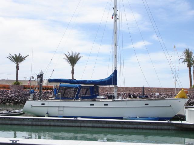41' Custom Aluminum CC Sloop+Boat for sale!