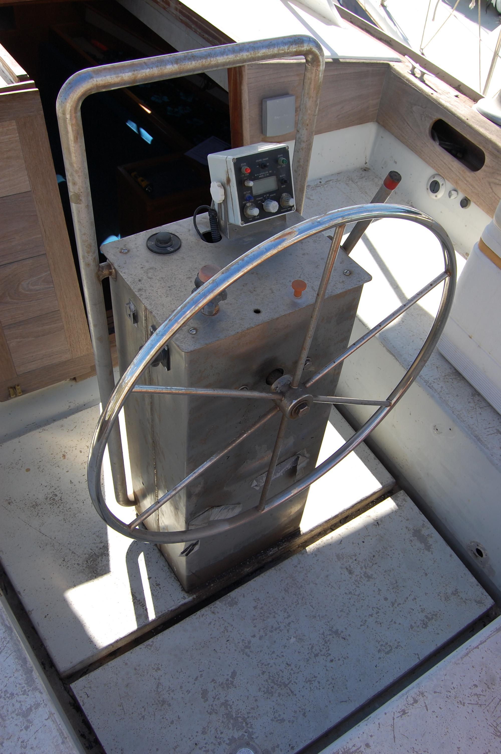 41' Custom Aluminum CC Sloop+Photo 12