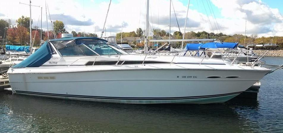 1989 Sea Ray 390 Express Cruiser Power Boat For Sale Www
