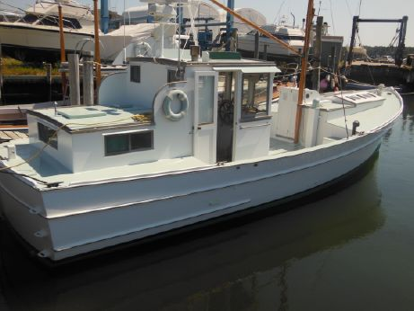 1965 Penobscot Matthews Wheeler Defever Pilot House Diesel Trawler