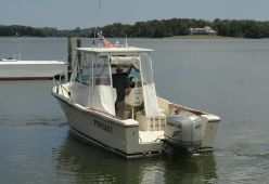 photo of  25' Tiara Pursuit 25 Walkaround