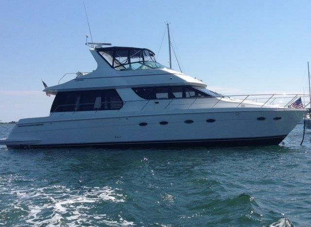 2001 Carver 530 Voyager Pilothouse Power Boat For Sale