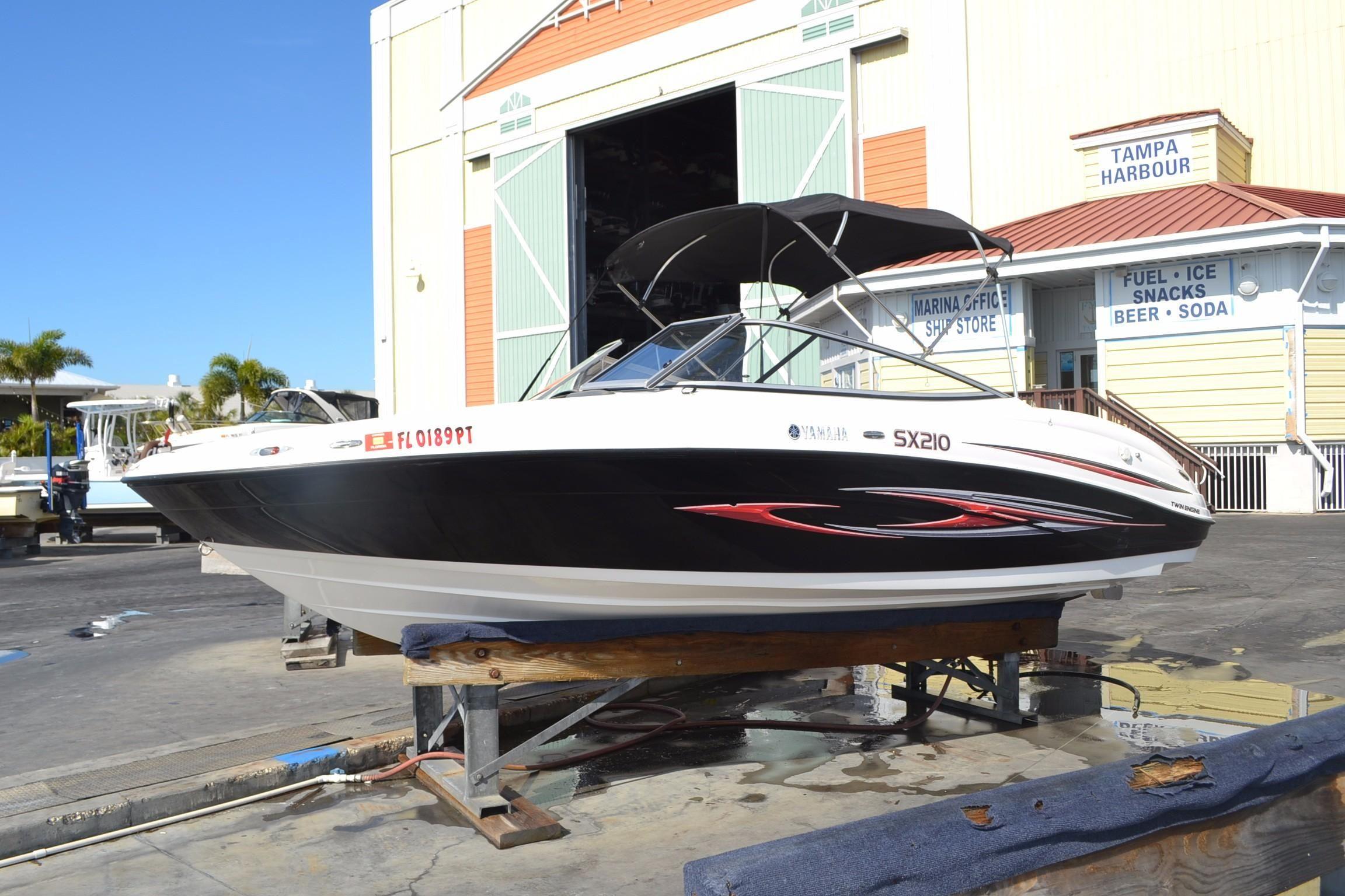 2008 yamaha sx210 power boat for sale for Yamaha dealer tampa