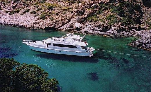 2001 Hatteras 75 Cockpit Motor Yacht