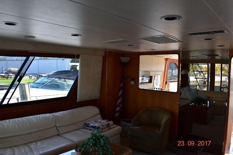 1990 Viking 50 Motor Yacht Power Boat For Sale - www