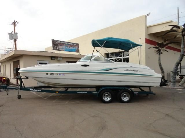 1999 Hurricane Fun Deck 237 Power Boat For Sale