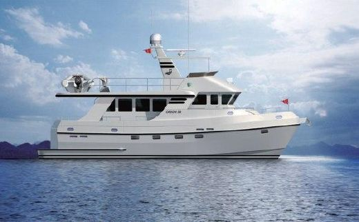 2015 Explorer Motor Yachts Odyssey 52