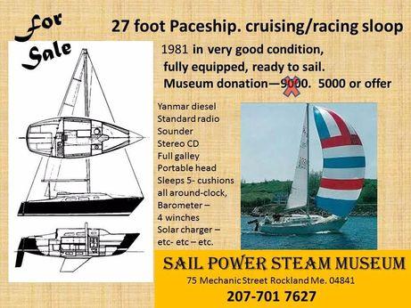 1981 Paceship Sloop