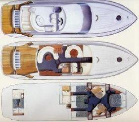 1995 Fairline Squadron 55
