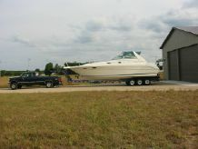 1997 Sea Ray 330 Sundancer With Trailer