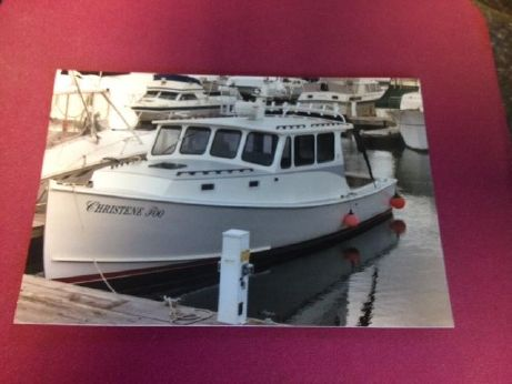 2002 West Bay  31 Downeast Pilothouse