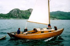 1966 Lochfyne Skiff Centreboard Bermudan Sloop